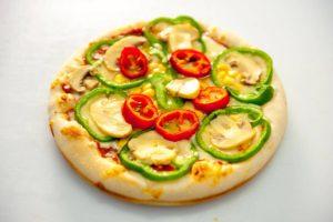 Πίτσα Ατομική Χορταρικών
