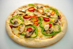 Πίτσα Μεγάλη Λαχανικών